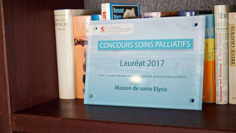 Gagnant du concours de soins palliatifs