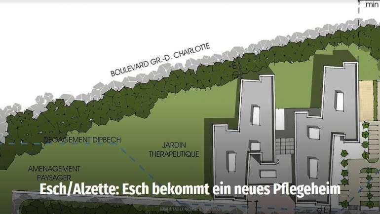 Elysis construit à Esch/Alzette – Présentation des plans