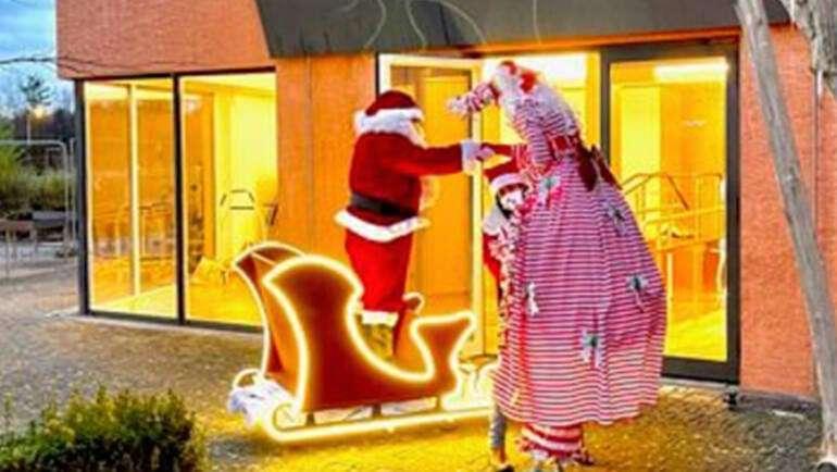 Cortège de Noël au jardin d'Elysis