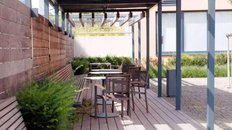 Réouverture de la terrasse